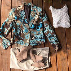 Anthropologie🌺 LaVie Boheme Vintage Vibe Blazer-S
